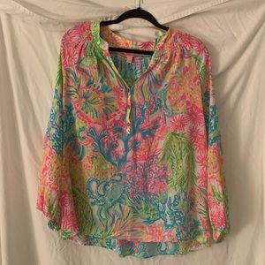 Lily Pulitzer blouse - lightly worn!